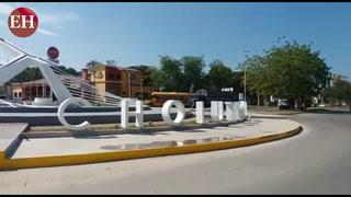 Inauguran rotonda en bulevar principal la ciudad de Choluteca