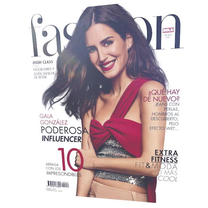 Gala González, portada de mayo de H!FASHION