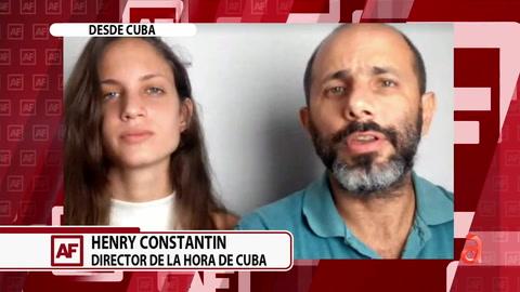 Conversamos con los periodista recién liberados por el régimen cubano Henry Constantín Ferreiro y  Neife Rigau