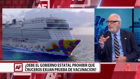 Debate: ¿Debe el Gobierno Estatal prohibir que cruceros exijan prueba de vacunación?