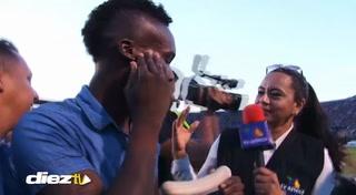 Rubilio Castillo rompe en llanto tras el bicampeonato