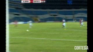 Santos de Guápiles abre el marcador ante el Olimpia 1-0