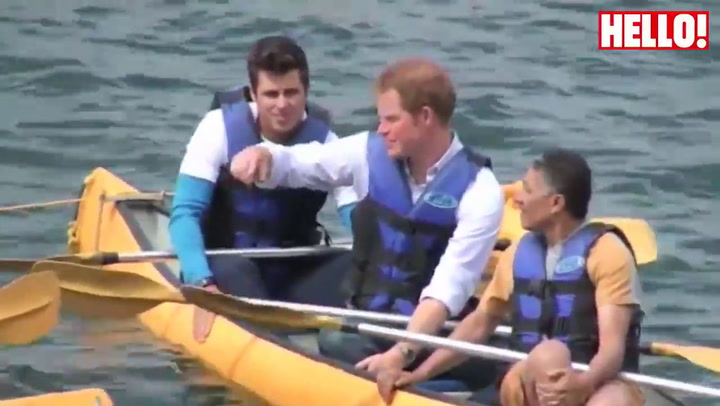 Prince Harry\'s Brazilian trip