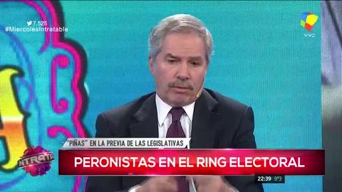 Felipe Solá advirtió que hay dos peronismos y es muy difícil unirlos