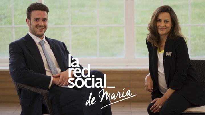 Alex Lequio en La Red Social de María (más personal): \'Estoy entusiasmado con la llegada de mi hermana\'