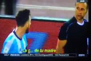 El descomunal enfado de Messi con el árbitro