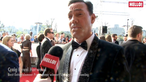 2016 Bafta Television Awards: red carpet stars chat to HELLO!