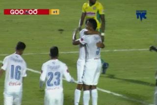Ever Alvarado anota el 3 -1 de Olimpia ante Juticalpa