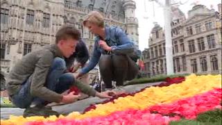 Bruselas se viste con más de 100 mil flores