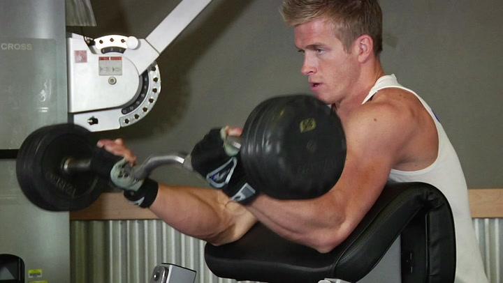 Preacher Curl - Biceps Exercise