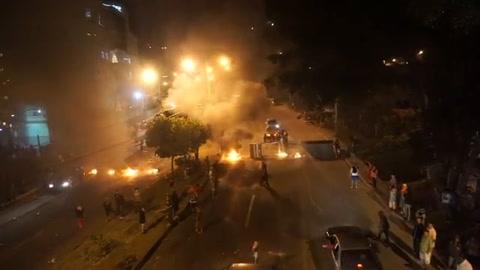 Oposición hondureña protesta por anuncio de triunfo de Hernández