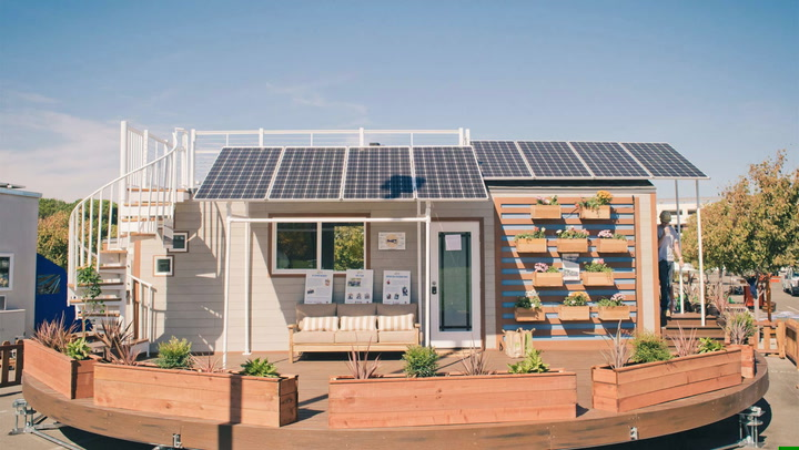 Take a Spin Through This Award-Winning Tiny House Built by College Students