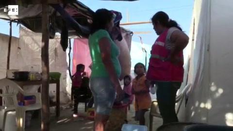 Situación de damnificados por inundaciones de Perú se agrava