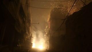 Mueren más de 30 civiles por bombardeos rusos en Guta