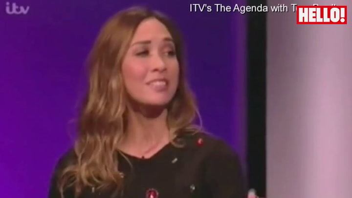 Myleene Klass tackles Ed Miliband on proposed mansion tax on The Agenda