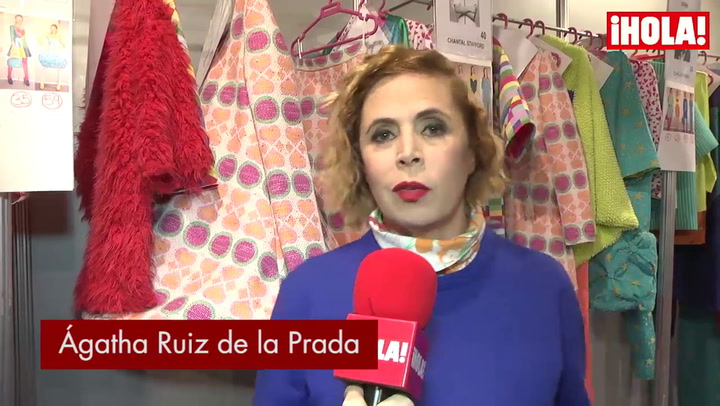 Ágatha Ruiz de la Prada: \'Cibeles tiene el mejor backstage del planeta\'