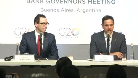 EEUU presiona a China en G20 y evalúa más sanciones a Venezuela