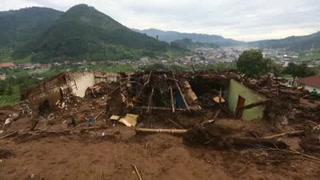 Devastación tras alud que dejó 12 muertos en Guatemala