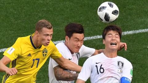 Suecia vence 1-0 a Corea gracias a penal pitado con el VAR