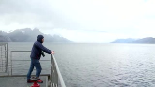 Una aventura tormentosa para llegar a la Antártida
