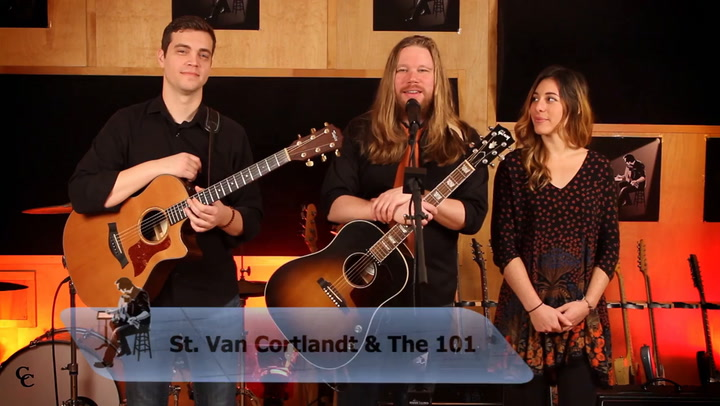 St. Van Cortlandt & The 101 perform Escape Artist on The Jimmy Lloyd Songwriter Showcase