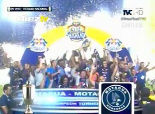 Motagua levantó la su copa número 15 de la Liga Nacional de Honduras