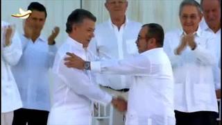 Colombia sella la paz