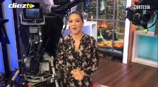 Ana Jurka desea suerte a DIEZ TV previo a su estreno