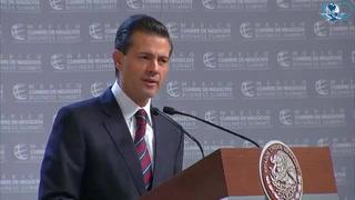 Peña Nieto defiende relación económica con EU