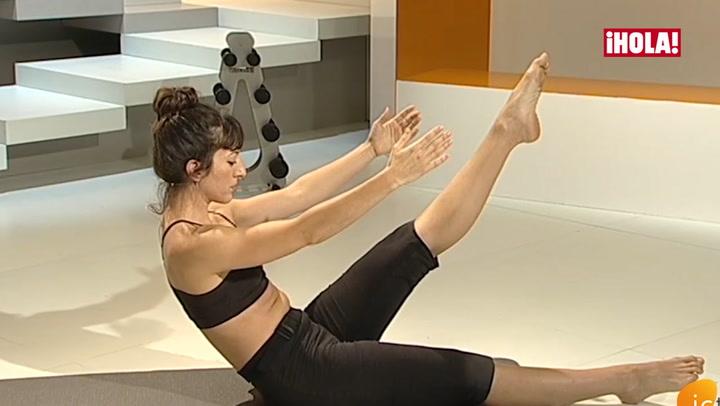 Aprende a hacer el ejercicio \'Teaser\' de Pilates
