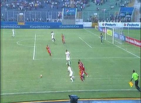 Goleada también en el Nacional, Olimpia derrota a Real España