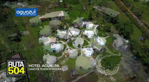 Ruta 504: Hotel Agualpa ofrece una experiencia unica