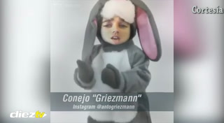 El conejo Griezmann al ataque