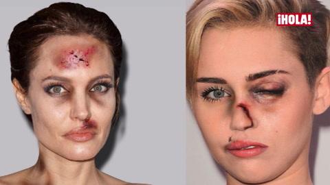 Angelina Jolie, Miley Cyrus y Madonna... unidas en una impactante campaña contra la violencia de género