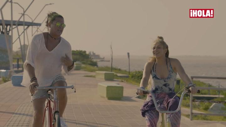 En ¡HOLA! TV: Carlos Vives y  el 'efecto bicicleta' creado con Shakira