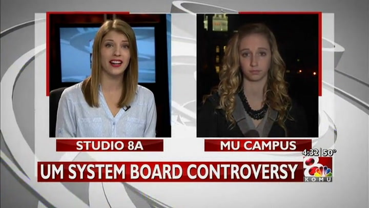 MU student leader calls state of system board \