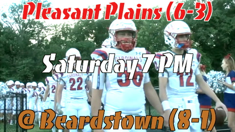 Pleasant Plains Second Season Matchup