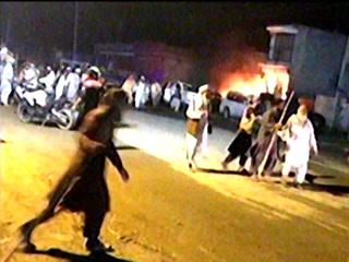 رائے ونڈ میں پولیس چیک پوسٹ کے قریب خود کش حملہ، 9 افراد شہید