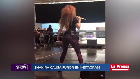 Shakira causa furor en Instagram