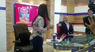 Ariela Caceres anuncia su segundo embarazo en TV