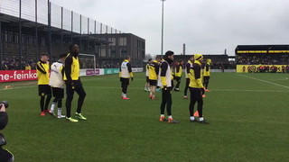 Usain Bolt se entrenó con el Borussia Dortmund de Alemania