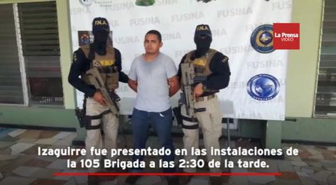 Capturan en Honduras a un taxista, presunto miembro activo de la pandilla 18