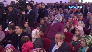 Bakanlar Ermenek'te protesto edildi