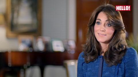The Duchess of Cambridge reveals Prince George calls the Queen \'Gan-Gan\'