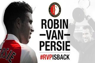 Robin Van Persie regresa al Feyenoord después de 14 años