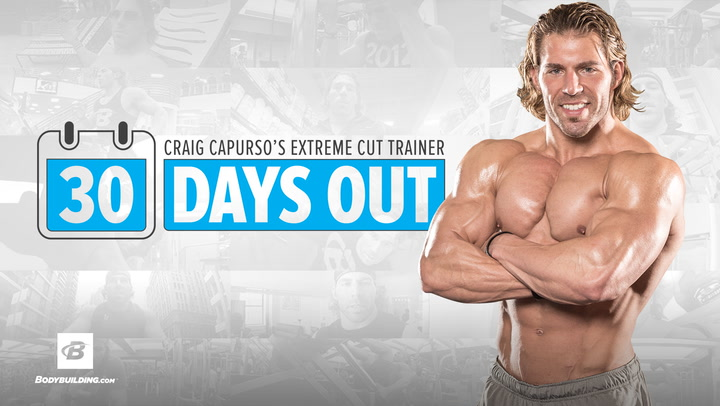 Craig Capurso's Extreme Cut Trainer | 30 Days Out | Program Overview