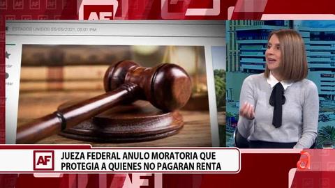 Una jueza Federal anulo moratoria que protegía a quienes no pagaran renta