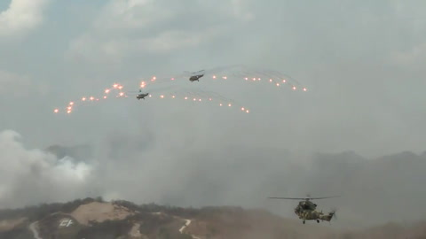 Ejercicios militares en las dos Coreas conjuntamente con EEUU