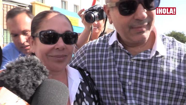 La felicidad de Isabel Pantoja tras firmar su libertad