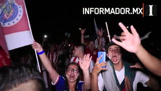 La Nación Chiva festeja en la Minerva